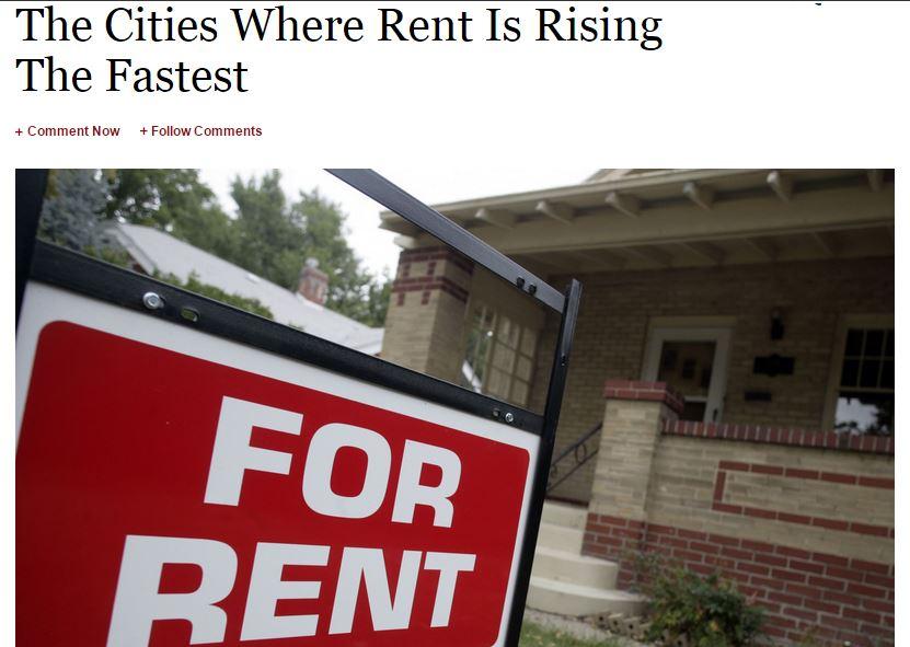 Rents Rising